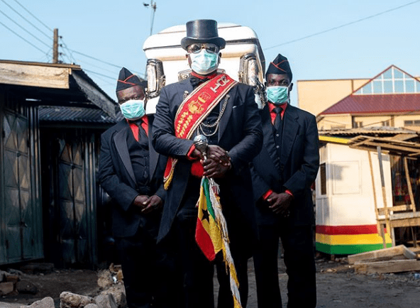 Death Care Industry _ Ghana dancing pallbearers